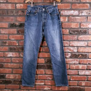 Vintage Levi's 501 High Rise Button Fly Jeans